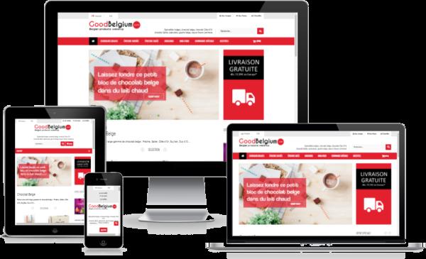 création site web goodbelgium
