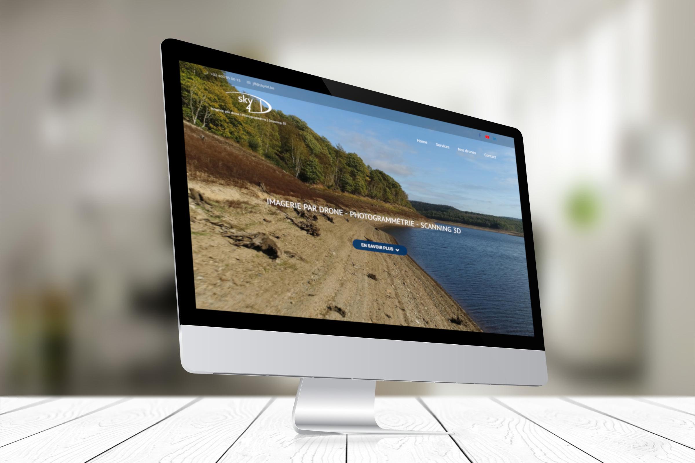 Réalisation site internet Sky4D