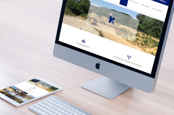 création site internet kgeo